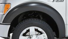 Stampede Automotive Accessories 8522-2 Trail Riderz Fender Flare Black, Set Of 4; Smooth;