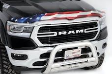 Stampede Automotive Accessories 2019-41 Vigilante Premium Hood Protector, American Flag