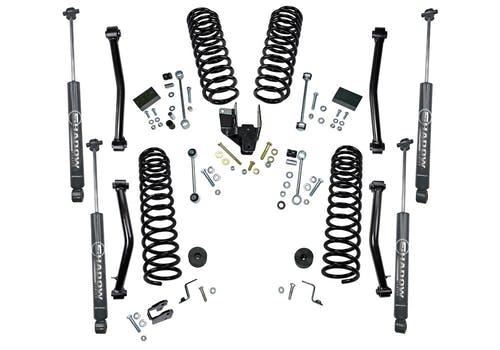 Superlift K192 4 inch Dual Rate Coil Lift Kit with