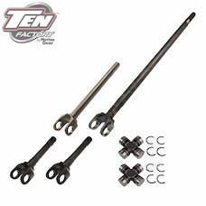 TEN Factory MG22270 Performance Complete Front Axle Kit