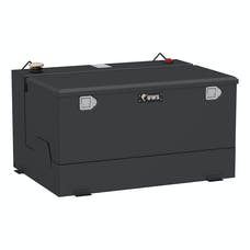 UWS ST-85-COMBO-MB 85 Gallon Combo Steel Matte Black