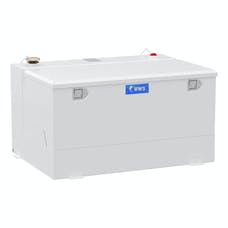UWS ST-85-COMBO-W 85 Gallon Combo Steel White