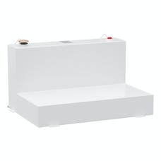 UWS ST-85-L-W 100 Gallon L Tank  Steel White