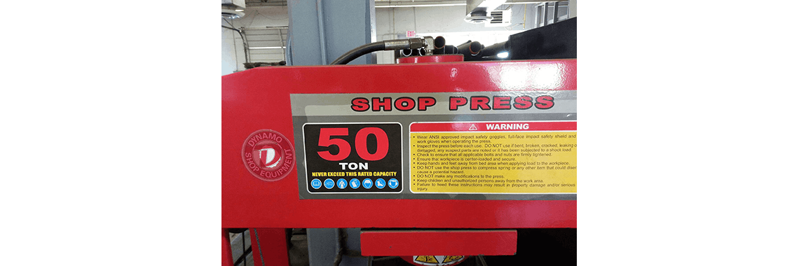 Shop Press Repair