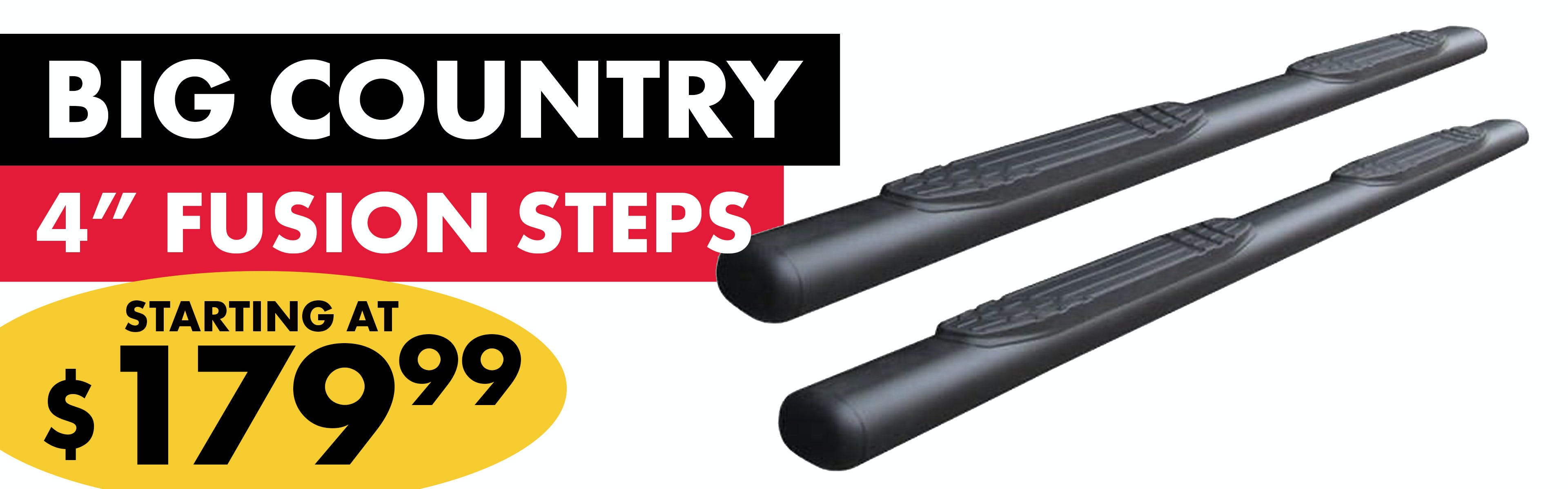 Big Country 4 Inch Fusion Steps