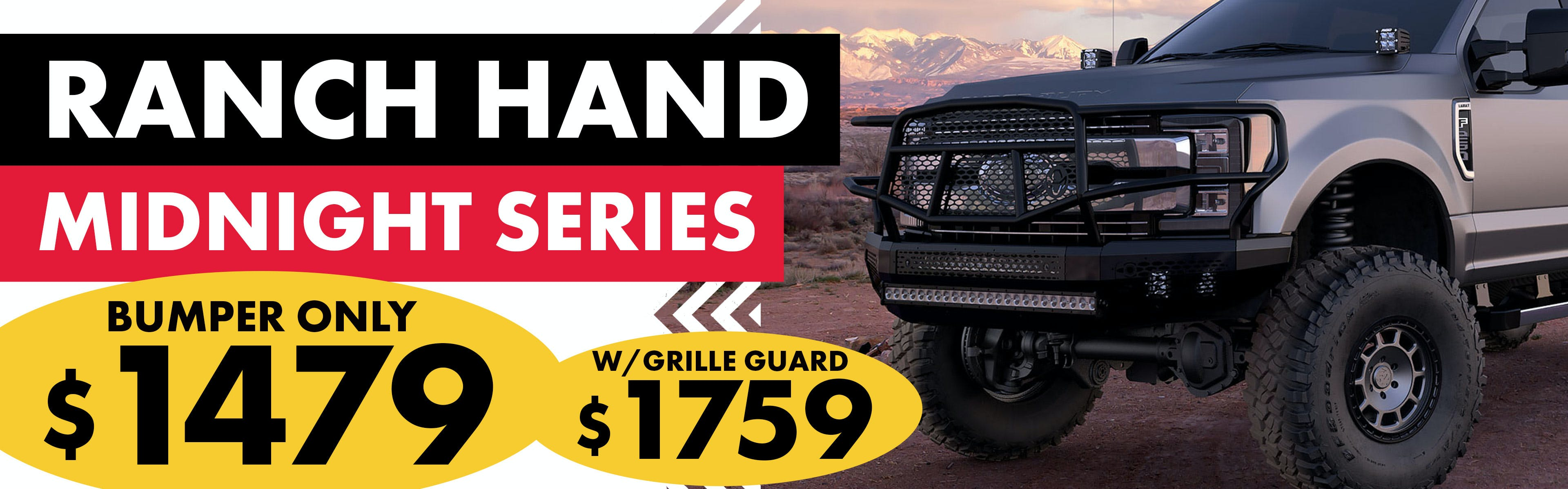 Ranch Hand Midnight Series Bumpers