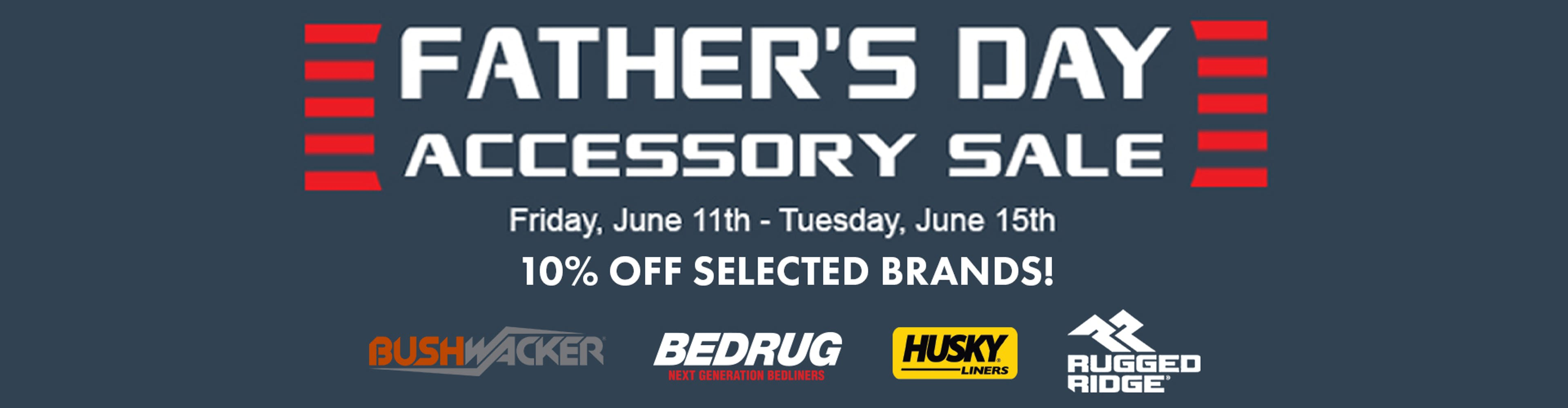 Father's Day accessory sale
