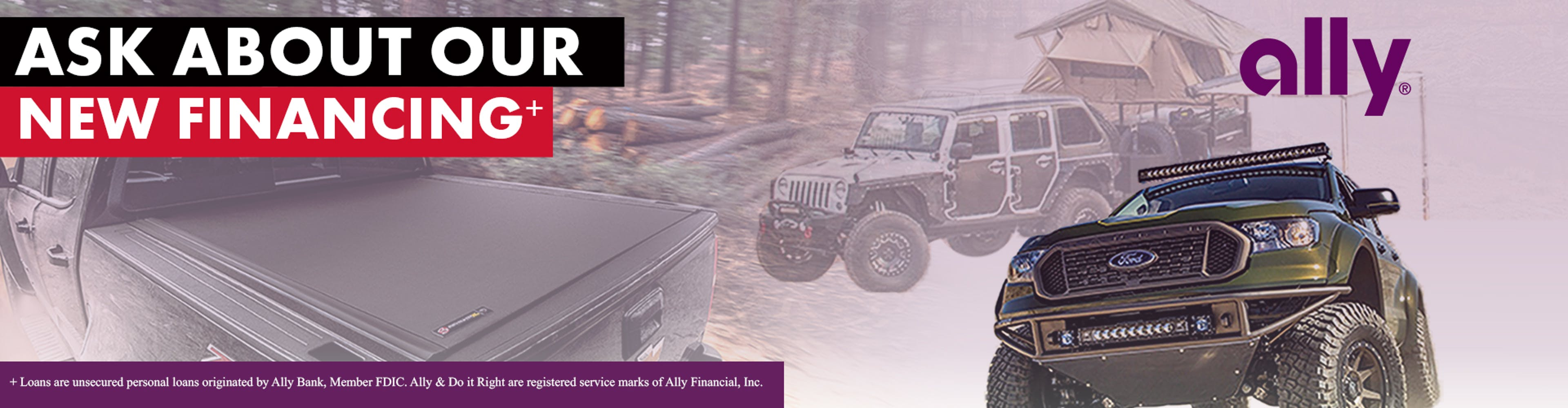 New Financing Options from Ally