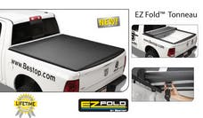 Bestop 14043-01 EZ-Fold Hard Trifold Tonneau Cover