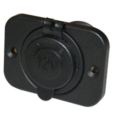 Bulldog Winch 20286 12v Power Socket 20A with cover & 3 Mounting Brackets