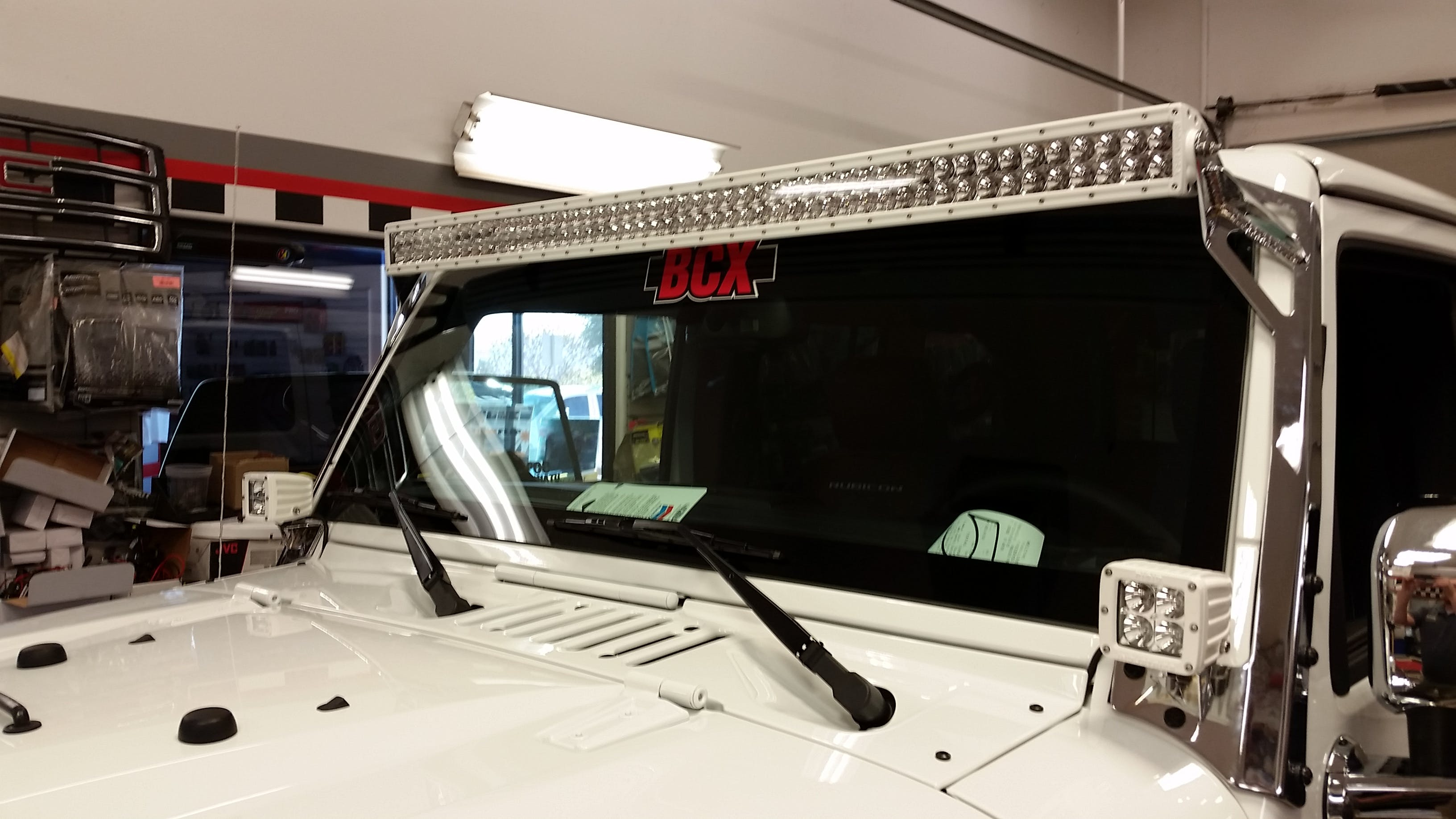 Custom Jeep lights