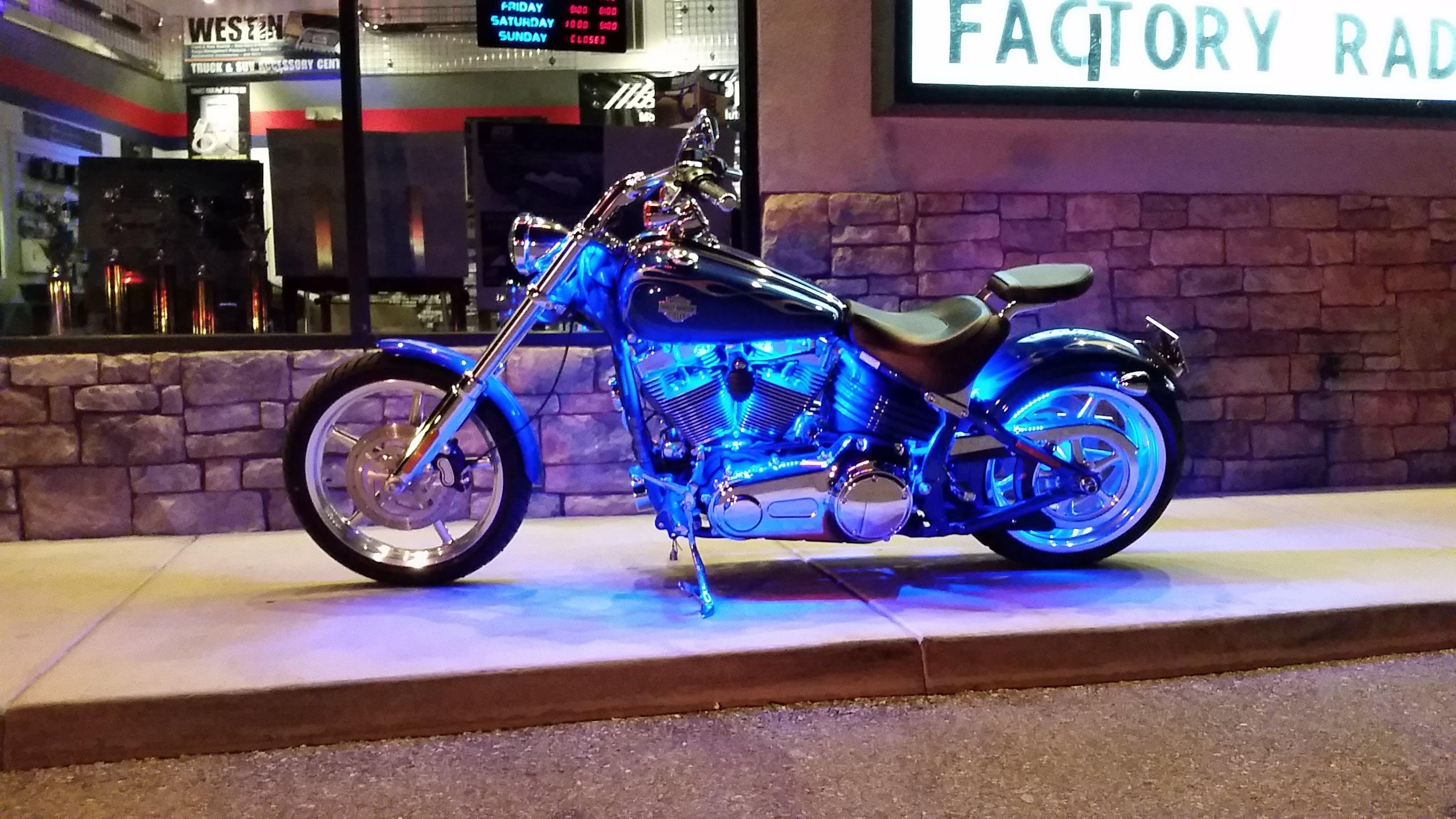 Custom motorcycle lights