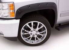 LUND RX106S Rivet Style Fender Flare Set - Front and Rear, Smooth, 4-Piece Set RX-RIVET STYLE 4PC SMOOTH