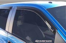 Stampede Automotive Accessories 6184-2 Tape-Onz Sidewind Deflector 4 pc, Smoke