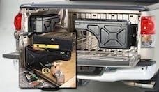UnderCover SC201P Swing Case Storage Box Passenger Side Black Smooth