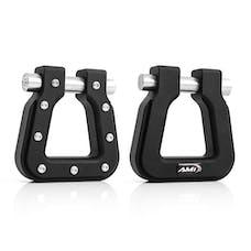AMI Styling 8812K-2 Demon V2- Square D-Ring Black