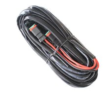 BrightSource 73240 30A Wiring harness/switch for dual lamps up to 120W each