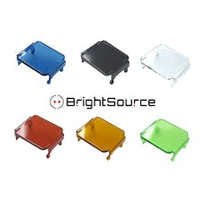 BrightSource 74105 Blue Polycarbonate Lens Cover for 774001; 776001; 776002
