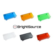 BrightSource 74164 Red 6in. Polycarbonate Lens Cover-combine to fit any BrightSource Light Bar