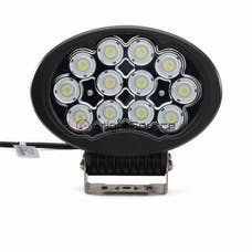 BrightSource 891203F 8.5in. Oval Work Light-Flood Pattern; harness included; 120W HD