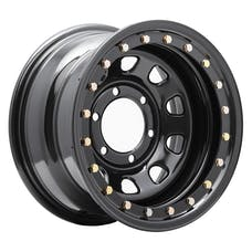 Pro Comp Steel Wheels 252-5183 Series 252 Gloss Black 15x10 6x5.5 3.75BS Offset-44mm Cap P/N 1425016