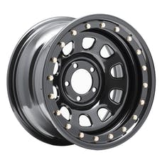 Pro Comp Steel Wheels 252-5865 Series 252 Gloss Black 15x8 5x4.5 3.75BS Offset-19mm Cap P/N 1330018