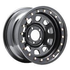 Pro Comp Steel Wheels 252-5866 Series 252 Gloss Black 15x8 5x4.5 4.5BS Offset 0mm Cap P/N 1330018