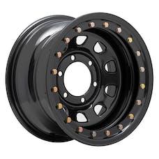 Pro Comp Steel Wheels 252-5883F Series 252 Flat Black 15x8 6x5.5 3.75BS Offset-19mm Cap P/N 1425017