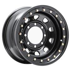 Pro Comp Steel Wheels 252-6881 Series 252 Gloss Black 16x8 8x6.5 4.25BS Offset-6mm Cap P/N 1515018