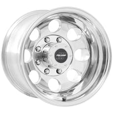 Pro Comp Wheels 1069-6170 Vintage Polished 16x10 8x170 4.5BS Offset-25mm Cap P/N 7515041
