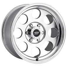 Pro Comp Wheels 1069-6183 Vintage Polished 16x10 6x5.5 4.5BS Offset-25mm Cap P/N 7425041
