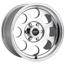 Pro Comp Wheels 1069-6883 Vintage Polished 16x8 6x5.5 4BS Offset-12mm Cap P/N 7425041