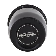 Pro Comp Wheels 1425018 4.25 GLOSS BLACK CAP WITH PRO COMP LOGO