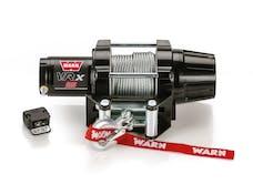 WARN 101025 VRX 25 Wire Rope Winch; Black