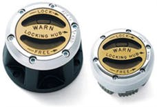 WARN 29091 External Manual Mount Hubs