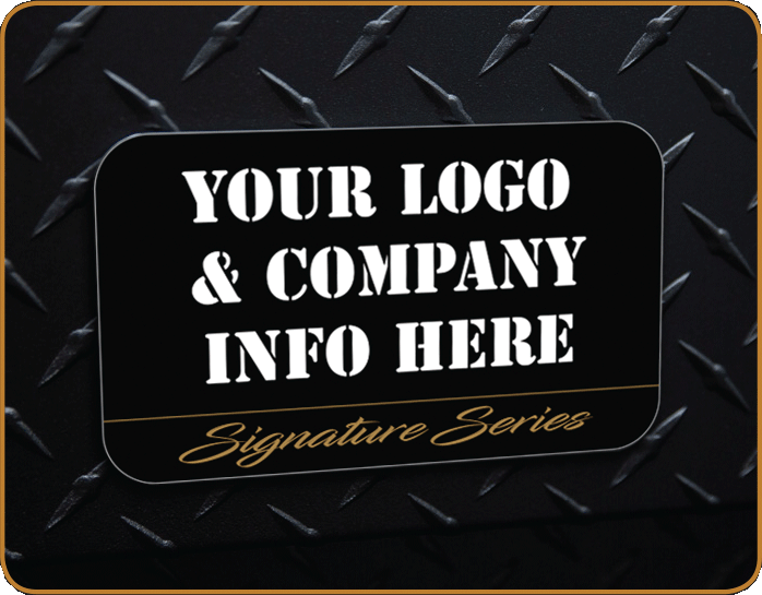 Your Logo Here Badge