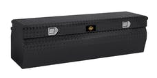 "Brandit APCTB48WB 48"" Chest Box Wedge Toolbox (Black Powder Coated Aluminum Finish)"