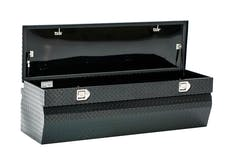 "Brandit APCTB60WB 60"" Chest Box Wedge Toolbox (Black Powder Coated Aluminum Finish)"