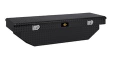 "Brandit APSTB63AB 63"" Single Lid Standard Crossover Toolbox (Black Powder Coated Aluminum Finish)"