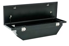 "Brandit APSTB63ALPMB 63"" Single Lid Low Profile Crossover Toolbox (Matte Black Aluminum Finish)"