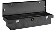 "Brandit APSTB70LPMB 70"" Single Lid Low Profile Deep Crossover Toolbox (Matte Black Aluminum Finish)"