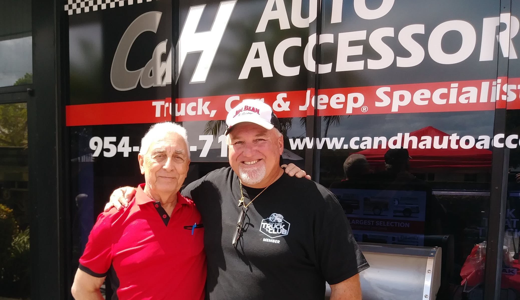 Herman and Chris at C&H Auto Accessories