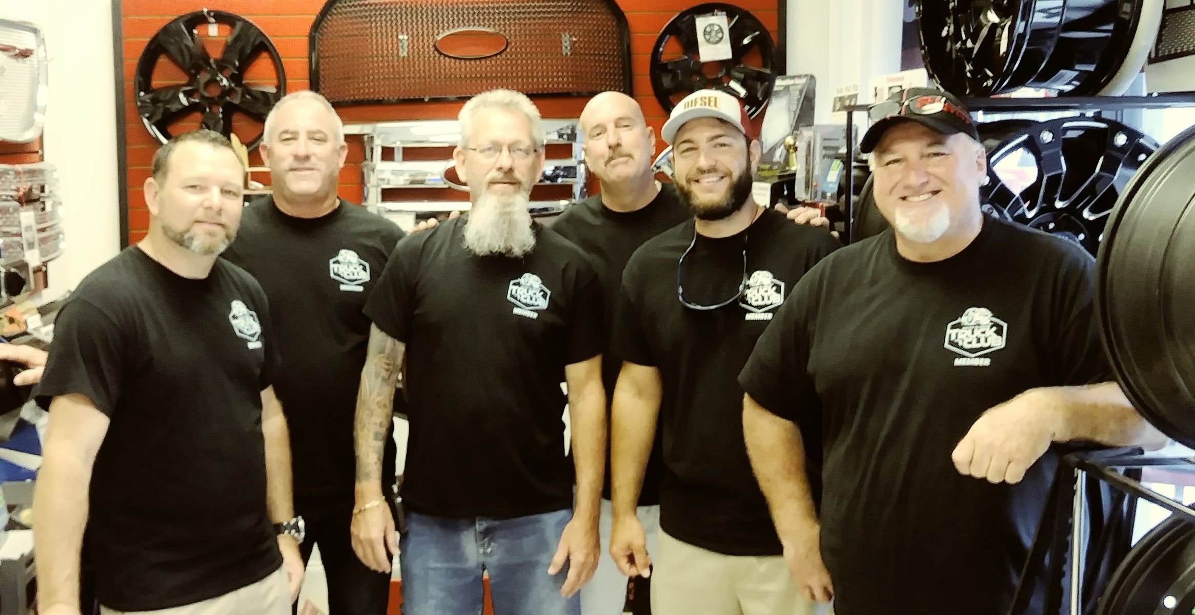 Members of the South Florida Truck Club