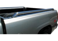 ICI Chrome tube side rails #SR1009 for 07-13 Chevy SILVERADO/ GMC SIERRA 1500 CREW CAB SB 5FT 8IN bed