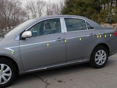 COROLLA 2009-2013 TOYOTA 4-door (14 piece Stainless Steel Arrow - 0.75