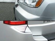 PILOT 2009-2011 HONDA 4-door, SUV (4 piece Stainless Steel Front and Rear  Bumper Cap Trim Accent) BC29260 QAA