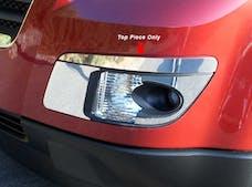 OUTLOOK 2007-2009 SATURN 4-door, SUV (2 piece Stainless Steel Front  Bumper Cap Trim Accent) BC47425 QAA