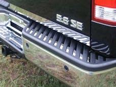 TITAN 2004-2015 NISSAN 4-door (31 piece Stainless Steel Insert with rear step  Rear Bumper Trim Accent) BI24520 QAA