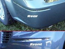 300 2005-2010 CHRYSLER 4-door (4 piece Stainless Steel 0.375