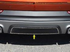 XT4 2019-2019 CADILLAC 4-door, SUV (1 piece Stainless Steel Installs onto lower bumper panel  Rear Bumper Trim Accent) BI59210 QAA